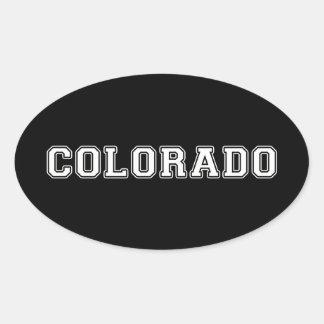 Adesivo Oval Colorado