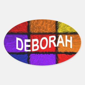 ADESIVO OVAL DEBORAH