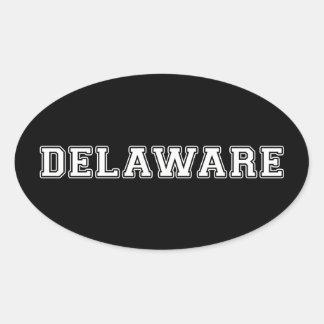 Adesivo Oval Delaware