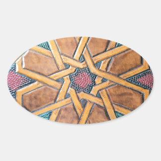 Adesivo Oval Design #1 de Alhambra