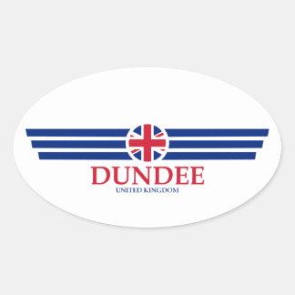 Adesivo Oval Dundee