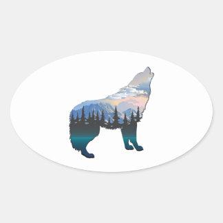 Adesivo Oval Eco de Yellowstone