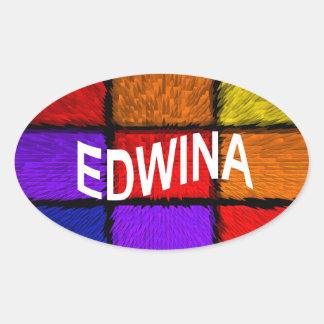 ADESIVO OVAL EDWINA