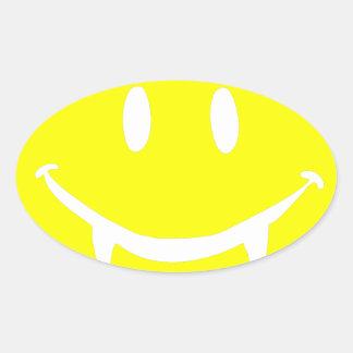 Adesivo Oval emoji dracula do vampiro