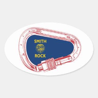 Adesivo Oval Escalada Carabiner de Smith