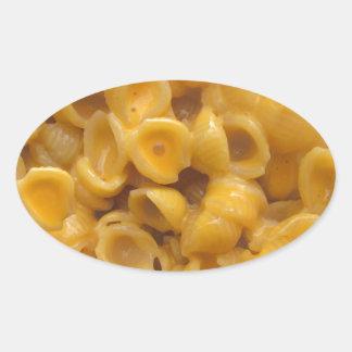 Adesivo Oval escudos e queijo