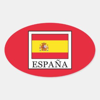 Adesivo Oval España