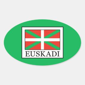 Adesivo Oval Euskadi