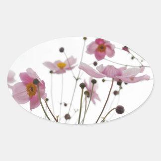 Adesivo Oval flor