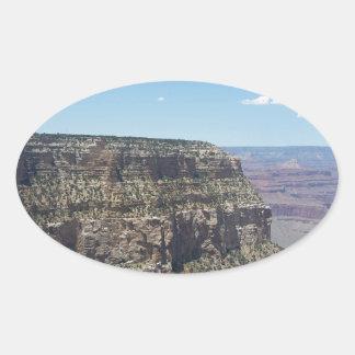 Adesivo Oval Grand Canyon - borda sul