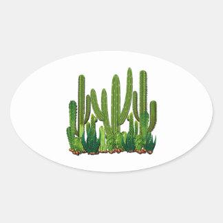 Adesivo Oval Habitat de Sonoran