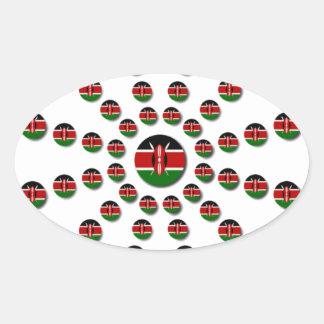 Adesivo Oval Hakuna Matata Kenya