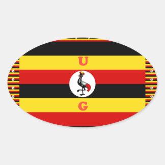 Adesivo Oval Hakuna surpreendente bonito Matata Uganda bonito