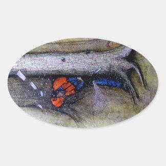 Adesivo Oval Husqvarna do stihl do cirurgião de árvore do