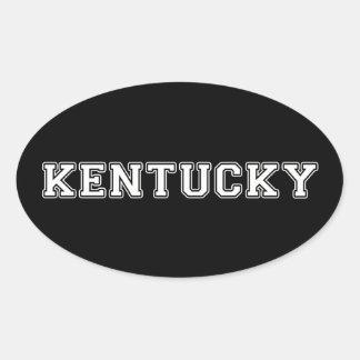Adesivo Oval Kentucky