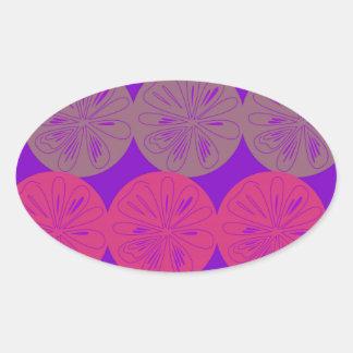 Adesivo Oval Limões do design, bio olhar