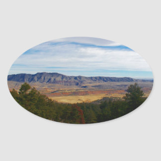 Adesivo Oval Lince Ridge Colorado
