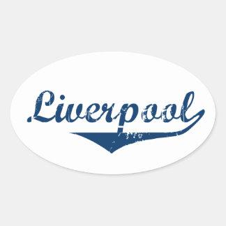 Adesivo Oval Liverpool