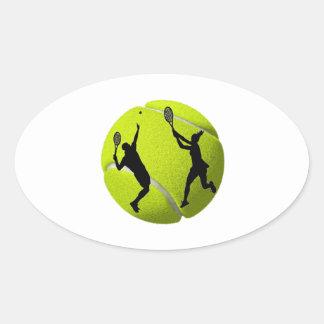 Adesivo Oval Match Point