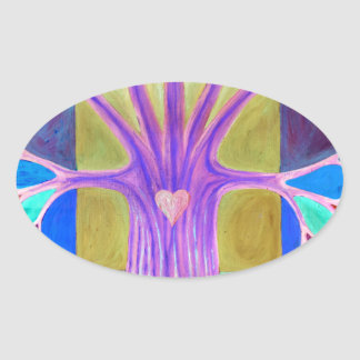 Adesivo Oval Melancolia