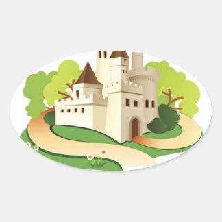 Adesivo Oval minha casa meu castelo