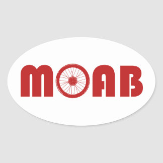 Adesivo Oval Moab (roda da bicicleta)
