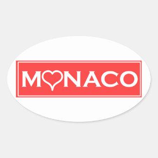 Adesivo Oval Mónaco