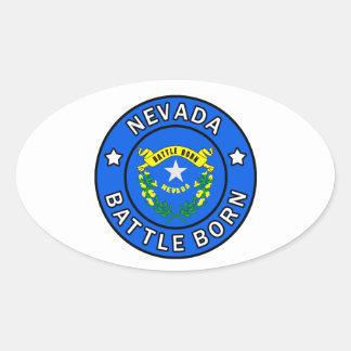 Adesivo Oval Nevada
