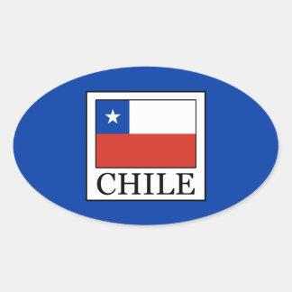 Adesivo Oval O Chile