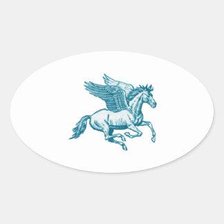 Adesivo Oval O mito grego