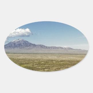 Adesivo Oval O panorama máximo 1 do piloto