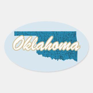 Adesivo Oval Oklahoma