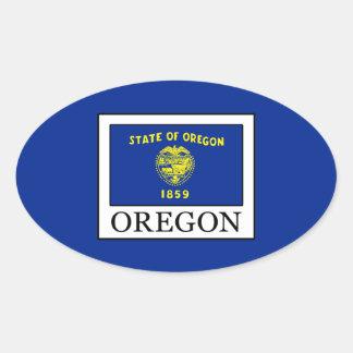 Adesivo Oval Oregon