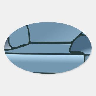 Adesivo Oval Poltrona
