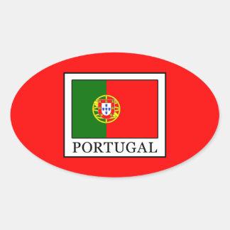 Adesivo Oval Portugal