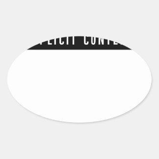 Adesivo Oval Presente perfeito do melhor t-shirt engraçado do