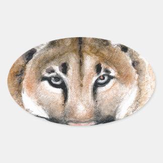 Adesivo Oval puma