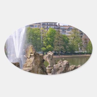Adesivo Oval Quadrado de Marie-Louise em Bruxelas, Bélgica