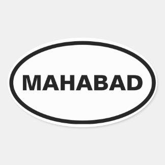 Adesivo Oval QUATRO Mahabad