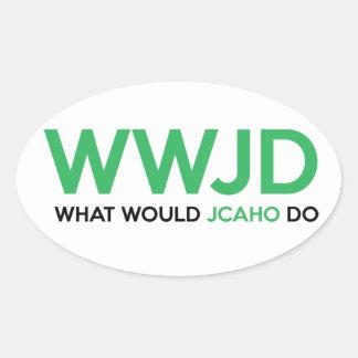 Adesivo Oval Que JCAHO faria?