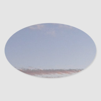 Adesivo Oval Raia da nuvem