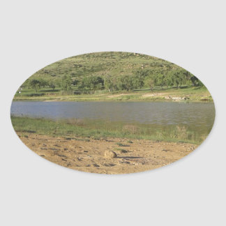 Adesivo Oval Represa 1 de Meulspruit