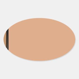 Adesivo Oval Saco de papel