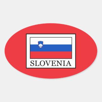 Adesivo Oval Slovenia