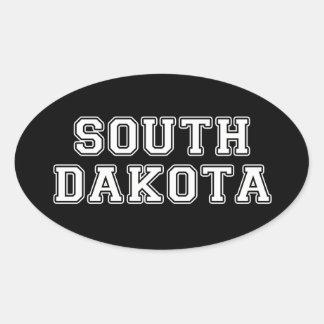 Adesivo Oval South Dakota
