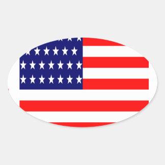 Adesivo Oval T-shirt das nações