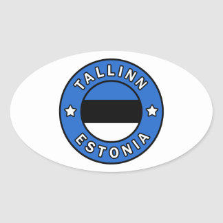 Adesivo Oval Tallinn Estónia