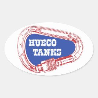 Adesivo Oval Tanques Carabiner de Hueco