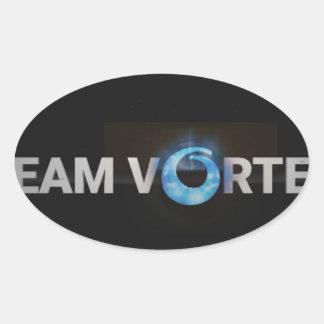 Adesivo Oval TeamVortex