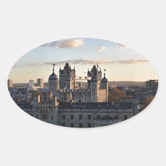 Adesivo Oval Torre de Londres